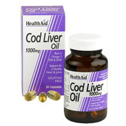 Cod Liver Oil 1000mg - 60 Capsules