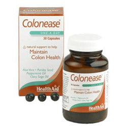Colonease (Peppermint & Aloe Vera Plus) - 30 Capsules