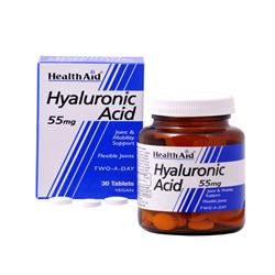 Hyalluronic Acid 55mg - 30 Tablets