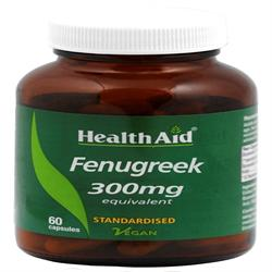 Fenugreek 300mg Equivalent - 60 Capsules