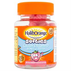 Haliborange Calcium & Vitamin D Softies 30s