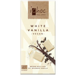 10% OFF White Vanilla Chocolate vegan 80g (order in singles or 10 for trade outer)