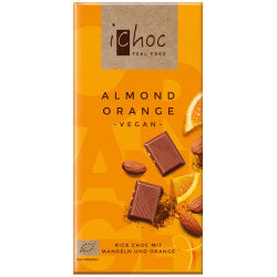 10% OFF Almond Orange - Rice Choc 80g (order in singles or 10 for trade outer)