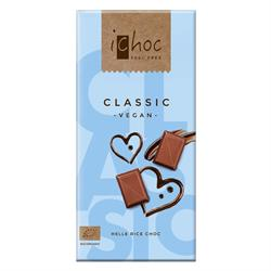 10% OFF iChoc Classic Chocolate vegan 80g (order 10 for retail outer)