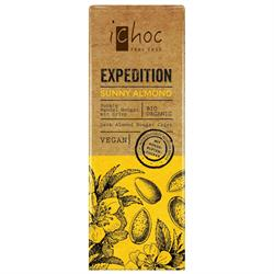 10% OFF iChoc Expedition Sunny Almond - vegan 50g (order 15 for retail outer)