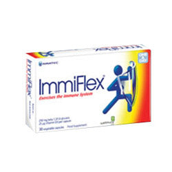 ImmiFlex 250 mg & 20 mcg Vitamin D3 30 Capsules