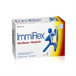 ImmiFlex 250 mg + 20 mcg Vitamin D3 90 Capsules