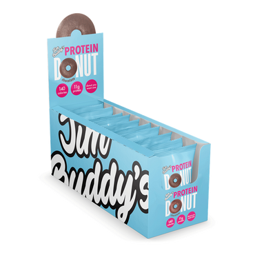 Jim Buddy Protein Donut 10x60g / Chocolate
