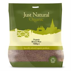 Organic Basmati Brown Rice 1000g