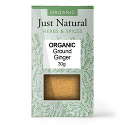 Ginger Ground (Box) 30g