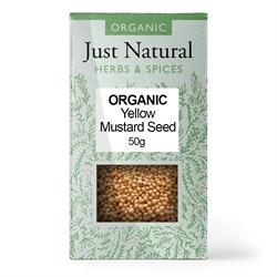 Mustard Seed Yellow (Box) 50g