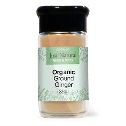 Ginger Ground (Glass Jar) 38g