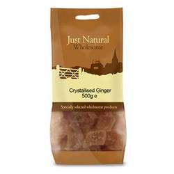 Crystallised Ginger 500g