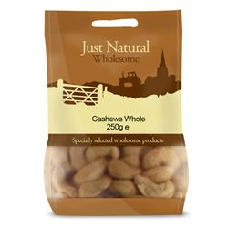 Whole Cashews 250g