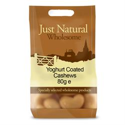 Yoghurt Coated Cashews 80g