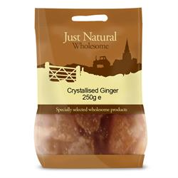 Crystallised Ginger 250g