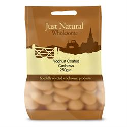 Yoghurt Coated Cashews 250g