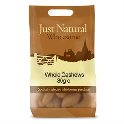 Whole Cashews 80g