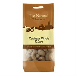 Whole Cashews 125g