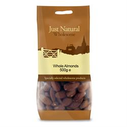 Whole Almonds 500g