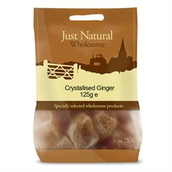 Crystallised Ginger 125g