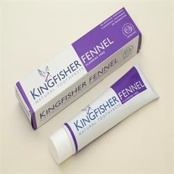 Fennel Fluoride Free Toothpaste 100ml (order in singles or 12 for trade outer)
