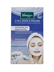 10% OFF 2-in-1 Peel Off Mask with Dead Sea Salt and Macadamia Oil 2 x 8ml (order 15 for retail outer)