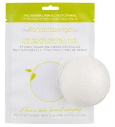 100% Pure Konjac Facial Sponge 1 Sponge (order in singles or 12 for retail outer)