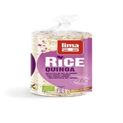 Rice Cakes with Quinoa 100g (order in singles or 12 for trade outer)