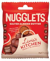 Nugglets Salted Almond Butter 35g (order 9 for retail outer)