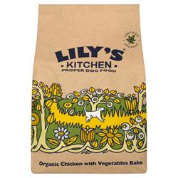 Organic Chicken with Vegetables Bake for Dogs 1kg (order in singles or 4 for trade outer)