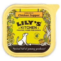 Organic Chicken Supper for Dogs 150g (order in singles or 11 for trade outer)