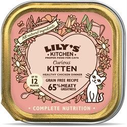 Lily's Kitchen Curious Kitten Dinner 85g (order in singles or 19 for trade outer)