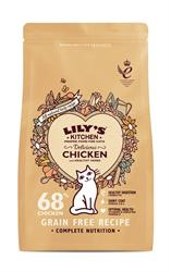 Lily's Kitchen Delicious Chicken Dry Food for Cats 200g (order in singles or 8 for trade outer)