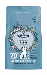 Lily's Kitchen Fabulous Fish Dry Food for Cats 200g (order in singles or 8 for trade outer)