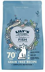 Lily's Kitchen Fabulous Fish Dry Food for Cats 800g (order in singles or 4 for trade outer)