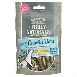 Truly Naturals Capelin Bites 80g (order in singles or 12 for trade outer)