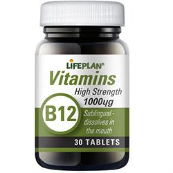 Vitamin B12 Sublingual 30 tabs