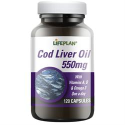 10% OFF Cod Liver Oil 500mg 120 caps