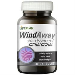 WindAway Activated Charcoal 30 Caps