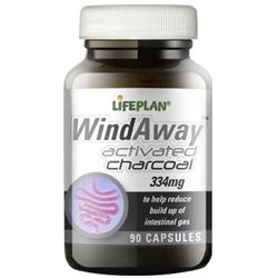 Windaway (Activated Charcoal) 90 Caps