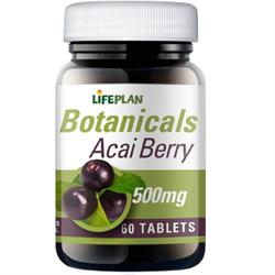 10% OFF Acai Berry 500mg 60 Tabs
