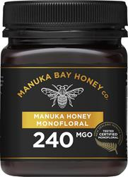 Manuka Bay Honey Co MGO 240 250g Monofloral
