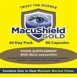Macushield Gold X 90 Capsules (order in singles or 63 for trade outer)