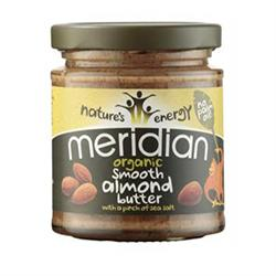 Organic Almond Butter With Salt - 170g