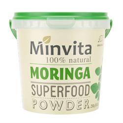 20% OFF Moringa Superfood Powder 250g (order in singles or 36 for trade outer)