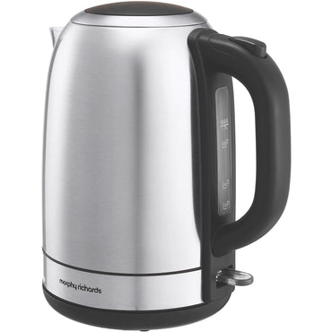 MORPHY RICHARDS 3kW  | 1.7L Equip Jug Kettle | S.Steel | Brushed