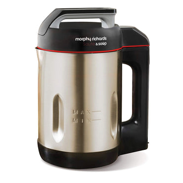 MORPHY RICHARDS 1.6L Soup and Saute Maker | 1000W | Brush | S.Stl