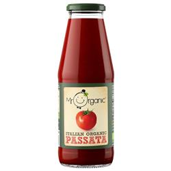 15% OFF Organic Passata 690g jar (order in singles or 12 for trade outer)