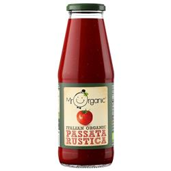 15% OFF Organic Passata Rustica 690g (order in singles or 12 for trade outer)